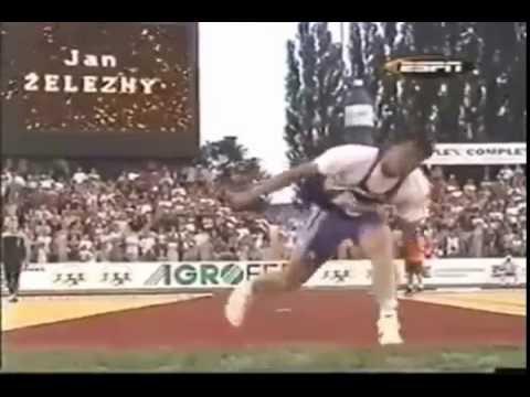 Мировой рекордсмен в метании копья