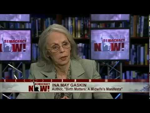 Ina May Gaskin on Rising U.S. Maternal Mortality Rate, Midwifery and Home Births