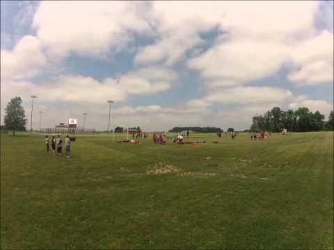2013 Buck Icon Football Camp Timelapse