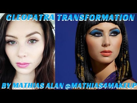 CLEOPATRA ELIZABETH TAYLOR TRANSFORMATION MAKEUP VIDEO TUTORIAL- mathias4makeup