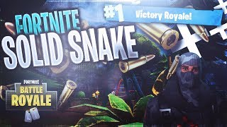 FORTNITE YOSHI/SOLID SNAKE GAMEPLAY EZ VITTORIA REALE IN SOLO
