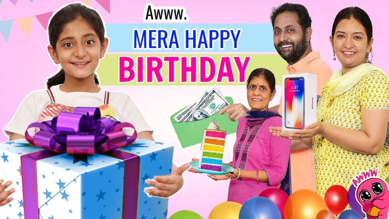 Aww Mera HAPPY B'DAY - जन्मदिन का Surprise Gifts | MyMissAnand