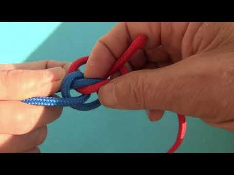 Новый способ вязки узла Хантера