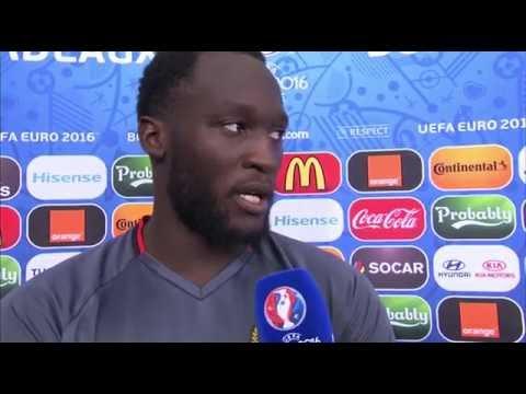 Belgium v Republic of Ireland - Post Match Interview - Romelu Lukaku (18/6/16)