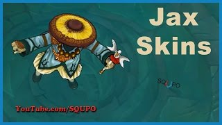 All Available Jax Skins (League of Legends)