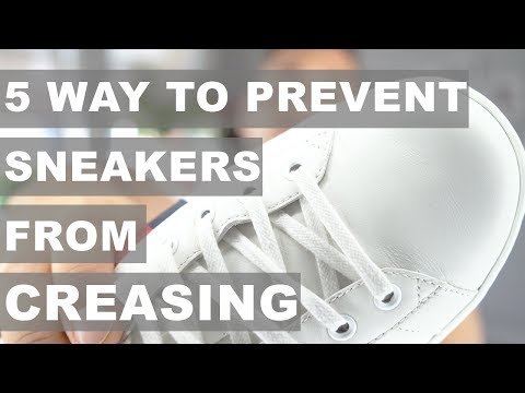 How to avoid getting creases in shoes | Sneaker care