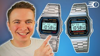 Casio A158WA vs A168WA | Best Budget Casio Battle!