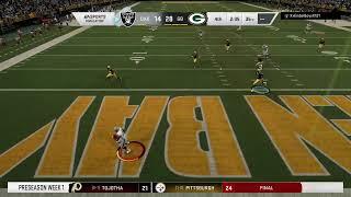 Season 18 - Preseason Week 1 : Oakland Raiders vs Green Bay Packers