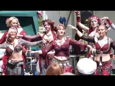The Sea Gypsies Belly Dancers - COMPILATION - in East Sussex.