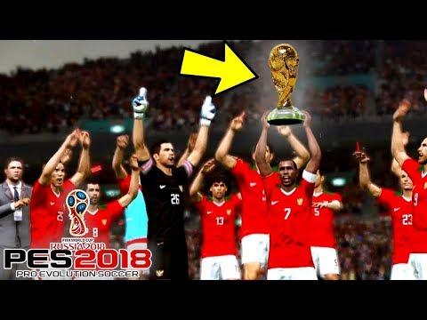 TIMNAS INDONESIA JUARA PIALA DUNIA 2018 RUSSIA!!!-FIFA WORLD CUP RUSSIA #7 (PES 2018 INDONESIA)