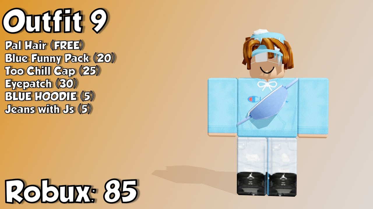 10 Awesome ROBLOX Outfits Under 100 Robux (ROBUX GIVEAWAY 1K