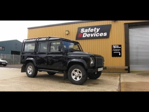 Safety Devices Land Rover Defender Roll Cage Installation