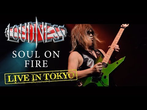 """LOUDNESS """"Soul On Fire"""" (Live in Tokyo) - New album """"Live in Tokyo"""" out May 17th/May 31st Mp3"""