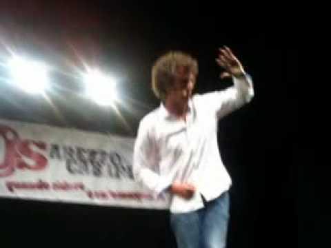 """Maurizio Lastrico """"il Dante di ZELIG"""" - SOS Arezzo Cabaret agosto 2010 -"""