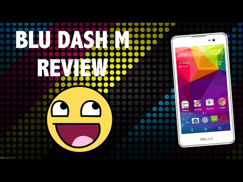 Blu Dash M 4G Android Lollipop Smartphone Review