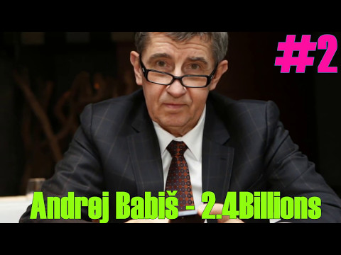 Top 6 Richest People in Czech Republic