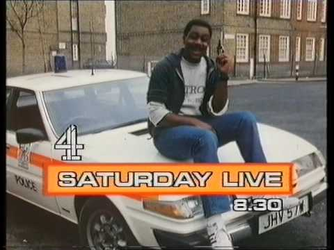 Lenny Henry as Eddie Murphy: Saturday Live trail (1986)