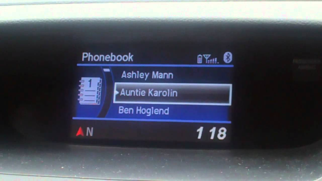 2012 Honda CR-V Bluetooth Sync and Setup