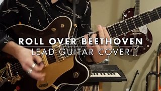 The Beatles - Roll Over Beethoven Lead Guitar - Dedicated To Chuck Berry
