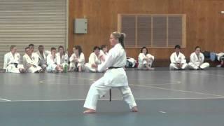 Hayley Carr: Kata Shisochin and grading highlights