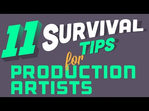 11 Survival Tips For Production Artists | Screen Printing