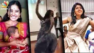 Jimikki Kammal Tamil Heroines Style : Deivamagal Sathya, Aishwarya Rajesh Performance | Vani Bhojan