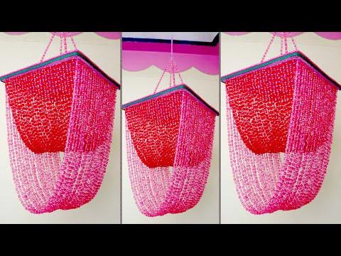 Pearl Wall Hanging Ideas || DIY Jhumar Making