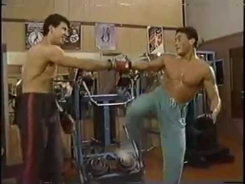 THE TRAINING WITH JEAN CLAUDE VAN DAMME - PART II (2009)