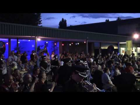 Fire and Rescue NSW Band and Marching Team - Swiss Tour 2015, Aussie Party