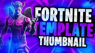 "New ""LEAKED"" Fortnite Skins Thumbnail Template February 2019 V1! - (FREE Fortnite GFX)"