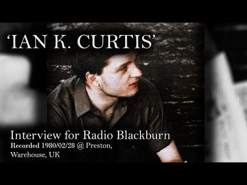 Ian Curtis interview for Radio Blackburn, BBC - almost full (probably)
