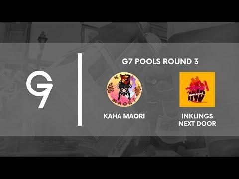 G7 Qualifiers :: Kaha Maori vs Inklings Next Door