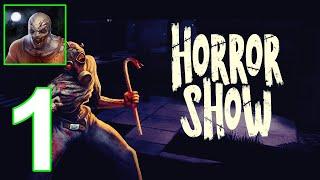 لعبة Horror Show - Scary Online Survival Game - الاندرويد والايفون جيم بلاي part 1