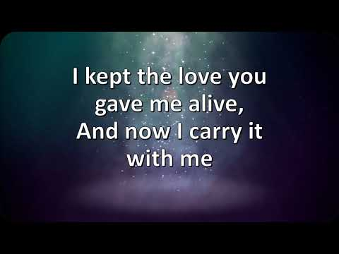 Poets of the Fall - Cradled in Love (LYRICS)