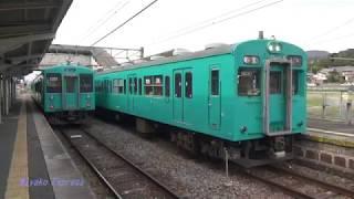 JR西日本 まほろば線(桜井線)の105系SP001編成  @三輪 14.3.31