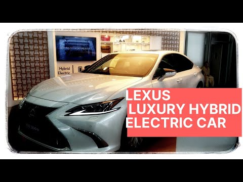 Lexus Luxury Hybrid Electric Car India