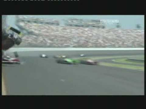 Indianapolis 500   2010 - Mike Conway final lap crash