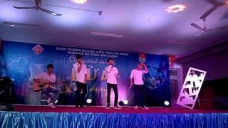 """""""Thu Cuối"""" beatbox and guitar Đại Học Kiến Trúc Đà Nẵng"""