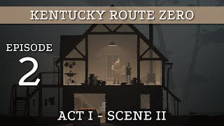 Ep 2 - Act 1,  Scene 2: Márquez Farmhouse (Kentucky Route Zero Act 1 gameplay)