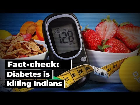 Fact-check: Diabetes is killing Indians; control your weight, diet to delay condition thumbnail