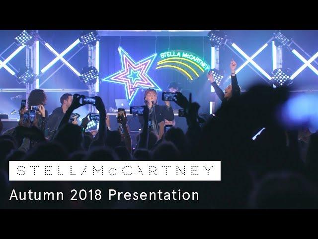 Stella in LA! The Autumn 2018 collection presentation on Sunset Boulevard