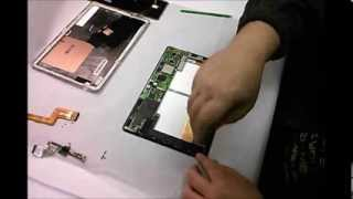 How to replace front glass digitizer on Asus Transformer TF300T