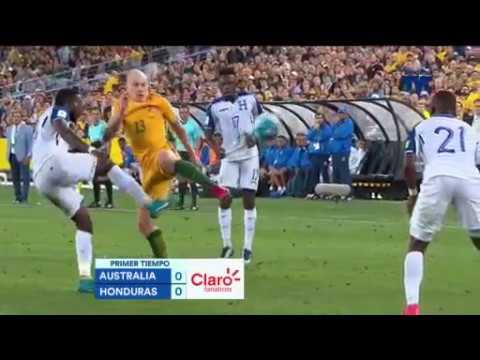Australia vs Honduras  RESULTADO FINAL 3-1