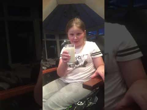 Ice cold milk challenge