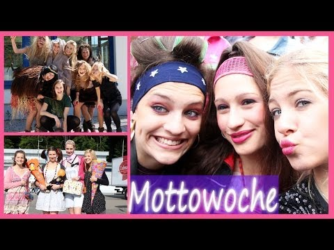 Mottowoche Abitur Outfits I FMA-letzte Schulwoche meines Lebens...