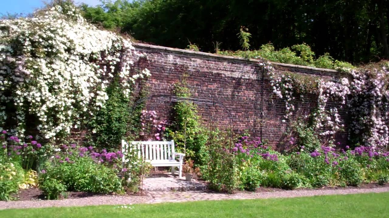 Walled Garden Wemyss Castle Fife Scotland Youtube
