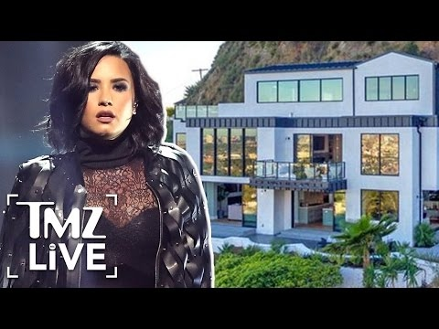 Demi Lovato's $8 Million Home Unsafe After Landslide | TMZ Live