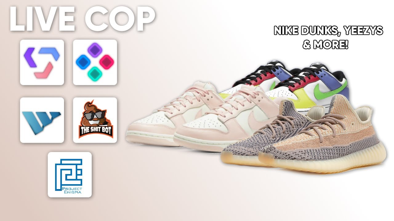 Yeezy 20 'Ash Pearl' & More Nike Dunks Live Cop   Valor AIO, Sole AIO,  Wrath, TSB & Project Enigma
