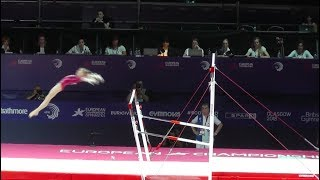 Vladislava Urazova / Уразова Владислава (RUS) - Bars - 2018 European Championships (Junior)