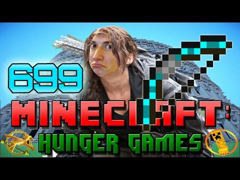 Minecraft: BOW SNIPES! Hunger Games w/Bajan Canadian! Game 699